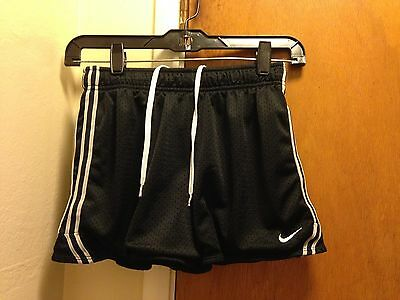 Youth Nike Dry Fit Black Athletic Shorts Large