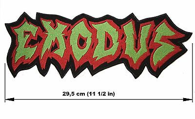 EXODUS logo BACK PATCH embroidered NEW thrash metal