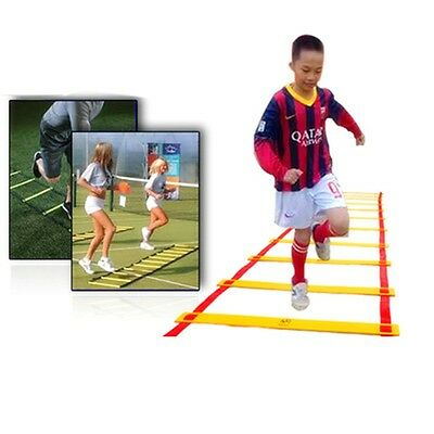 8-rung Agility Ladder for Soccer Speed Football Fitness Feet Training Durable AU