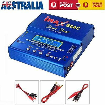 80W iMAX B6AC Dual Power Lipo Ni-Cd NiMH RC Battery Balance Charger Discharger A