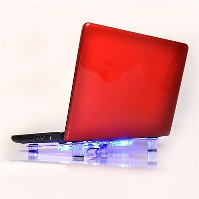 USB Notebook Laptop Cooler Cooling Pad Heatsink 3 Fan Cool for Computer PC AU