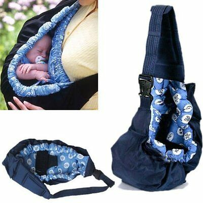 Newborn Baby Infant Toddler Cradle Pouch Ring Sling Carrier Kid Wrap Bag AU