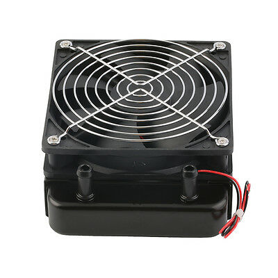 120mm Water Cooling CPU Cooler Row Heat Exchanger Radiator with Fan for PC AU