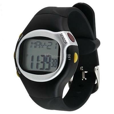 Pulse Heart Rate Monitor Wrist Watch Calories Counter Sports Fitness Exercise AU