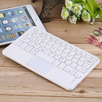 Mini Portable Wireless Bluetooth Keyboard with Touchpad for 7 inch tablets AU