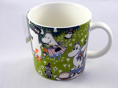 Arabia Moomin Mug Tove 100 Years Anniversary Celebration NEW