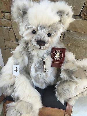 Charlie Bears Marshmallow Fully Jointed Plush 46 cm 2016 Collection Teddy
