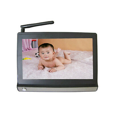 Wireless 7inch TFT LCD Video Baby Monitor with Night vision Remote 2 Cameras L2
