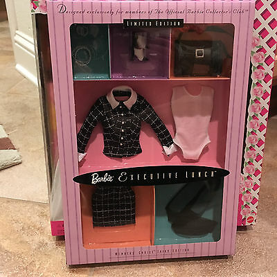 Barbie Doll Fashion Executive Lunch Collectors Club