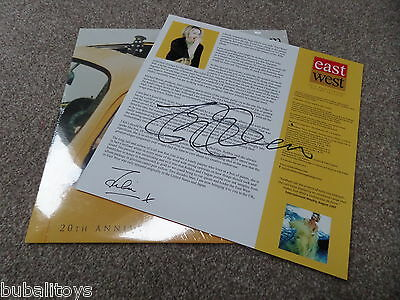 Julia Fordham - East West Anniversary *SIGNED* Yellow Vinyl Record & CD 2016 NEW
