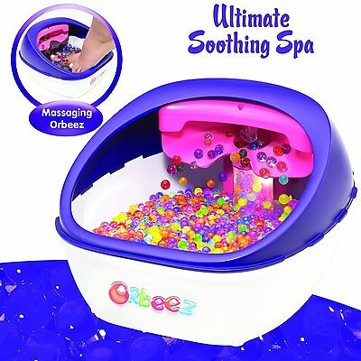 Orbeez Ultimate Soothing Spa Foot Massage Ages 5 Toy Girls Boys Play Game Bouncy