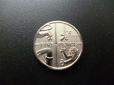 2010 Brilliant Uncirculated 5P Coin, The Definitive Version.