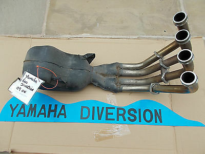 Yamaha XJ600 Diversion Exhaust System