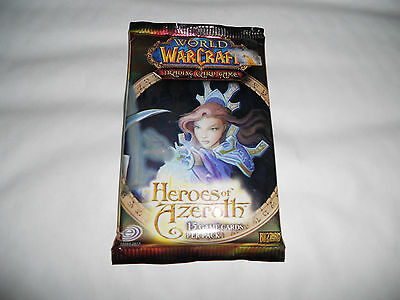 WOW-1x BUSTA- Heroes of Azeroth -Italiano Booster World of Warcraft-ITA