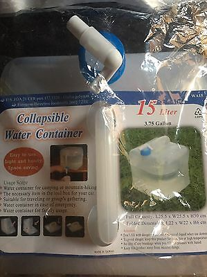 15 Litre Collapsible Water Container