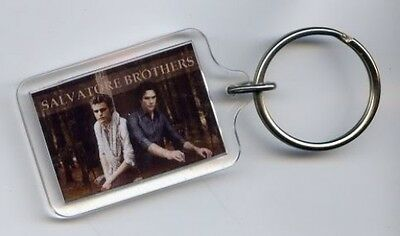 Vampire Diaries ..keyring / Keychain ..damon And Stefan