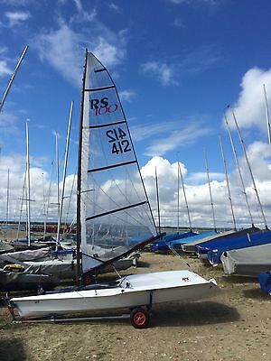 RS100 (412) Sailing Dinghy