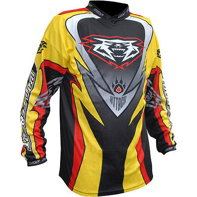 Wulfsport Attack Jersey Off Road Motocross Enduro Bike Adult Top New 2017 Yellow