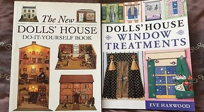 Two DOLLS HOUSES Books /  RRP £27.99