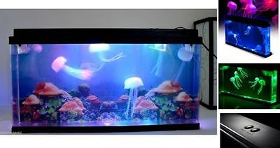 A Brand New Artificial Ocean World Colour Changing Led Jellyfish Tank