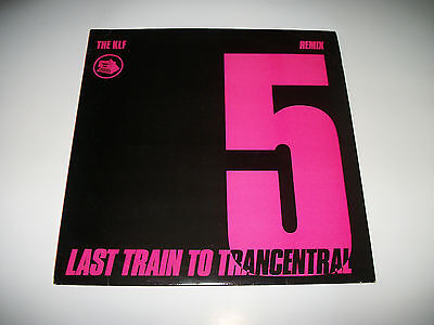 "The KLF - Last Train To Trancentral - Remix (12"" Vinyl)"