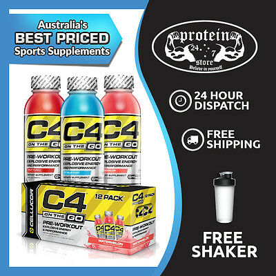 Cellucor C4 On The Go Rtd 295Ml - Box Of 12