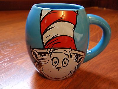 Dr. Seuss Cat in The Hat 18 oz. Oval Coffee Mug