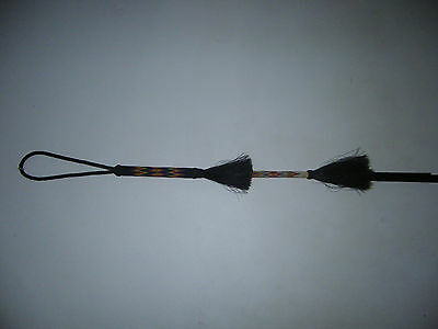 Hand Hitched Horse Hair Quirt - Riding Crop - Whip