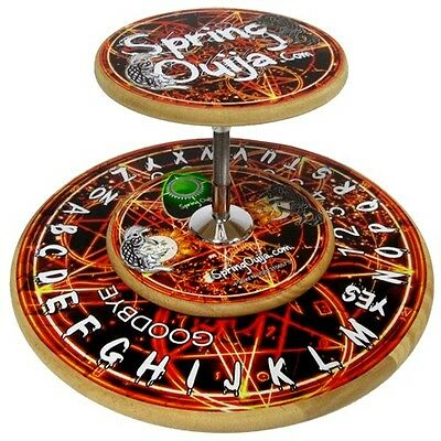 """Rare Limited Edition Spring Ouija Board """"Wooden"""" Paranormal Equipment"""