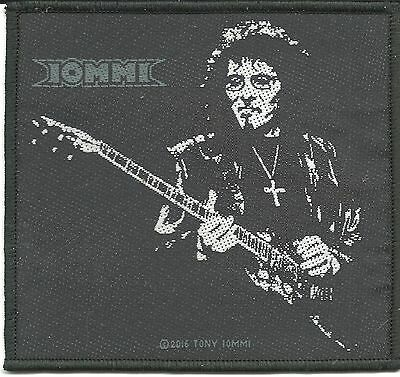 TONY IOMMI guitar 2016 - WOVEN SEW ON PATCH official merchandise BLACK SABBATH