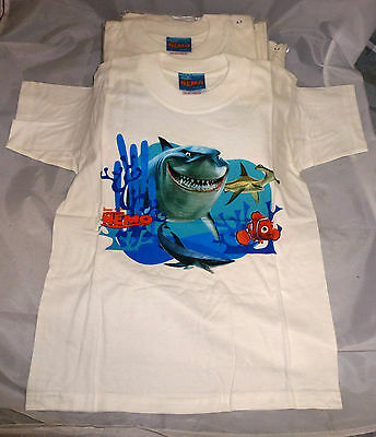Joblot 12 Finding Nemo Kids T.shirts Age 6-7Yrs New