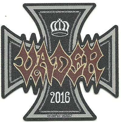 VADER 2016 cross 2016 - shaped - WOVEN SEW ON PATCH official merchandise