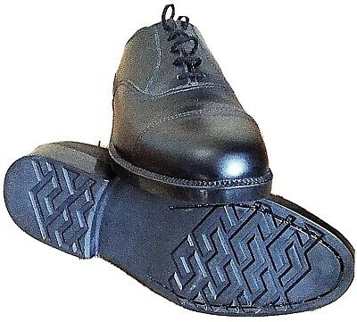 British Army surplus Black Leather Parade Shoes RAF Air Cadet With Toe Cap