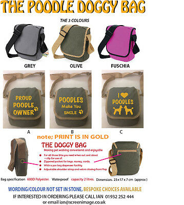 THE POODLE  BAG (soon be CHRISTMAS)