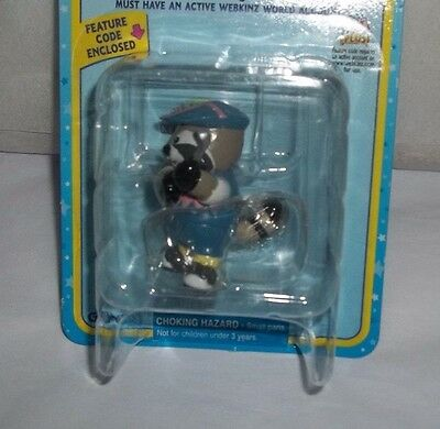 Never Opened Ganz Webkinz Tee Time Racoon Figure Code Enclosed