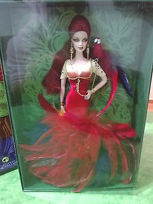 BARBIE THE SCARLET MACAW NRFB - GOLD LABEL - model muse doll collection Mattel