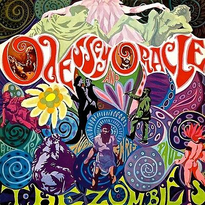 The Zombies - Oddessey & Oracle.  New Sealed Vinyl  Lp  Record.