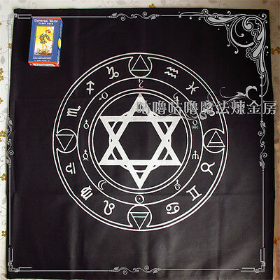 Altar Tarot Tablecloth Decor Divination Cards Square Wicca Tapestry Paganism Hot