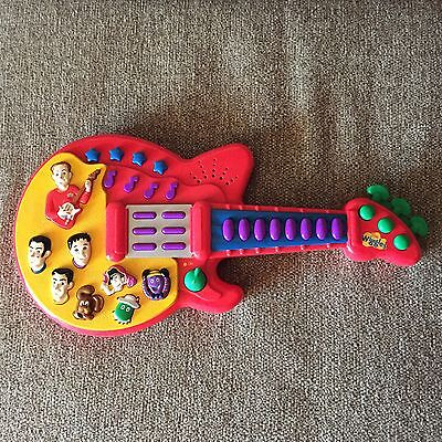 The Wiggles Sing And Dance Musical Guitar Electronic Toy Red 2003
