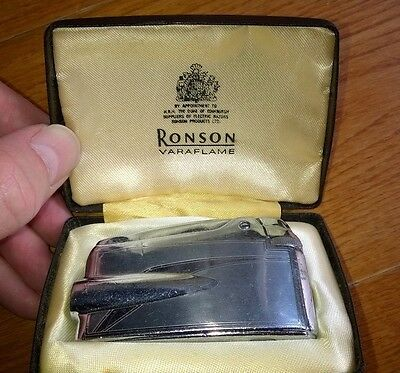 Ronson Varaflame Lighter in Box