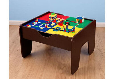 Children 2 in 1 Activity Table with Board Espresso Kidkraft 17577