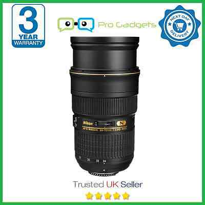 Nikon AF-S NIKKOR 24-70mm f/2.8G ED Lens - 3 Year Warranty