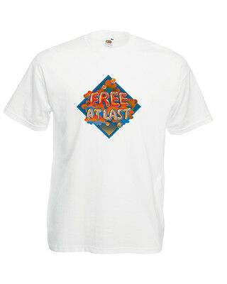 Free Free At Last T Shirt Paul Kossoff Paul Rodgers Andy Fraser Simon Kirk