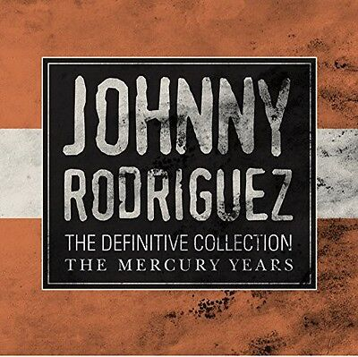 Definitive Collection The Mercury Years - 2 DISC SET - Johnny R (2014, CD NUOVO)