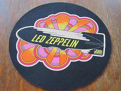 Led Zeppelin Promotional Slipmat !!!! RARE !!!