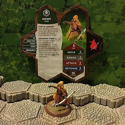 Heroscape Figure: Arkmer from Defenders of Kinsland w/Card