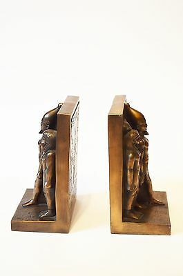 Ancient Egyptian Sculpted Bookends