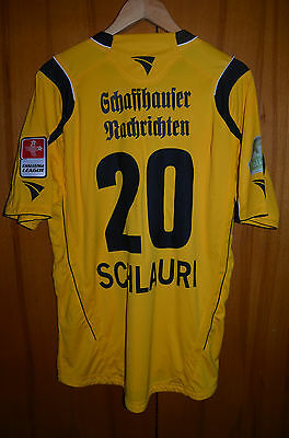 Schaffhausen Switzerland 2000's Match Worn Issue Football Shirt Jersey Schlauri