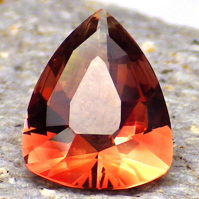 RED OREGON SUNSTONE 2.82Ct FLAWLESS-RED to PINK RED COLOR-FOR JEWELRY-VIDEO