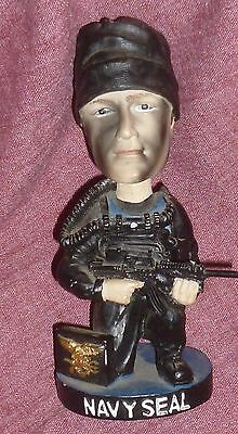 USA NAVY SEAL BOBBLE HEAD By Bobble Dreams, Honored For Dangerous Missions